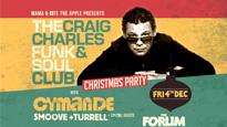 Craig Charles Funk & Soul Blackpool Christmas Ball with Soul II Soul