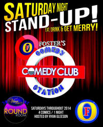 Comedy Station - Fosters Saturday Night Stand-up