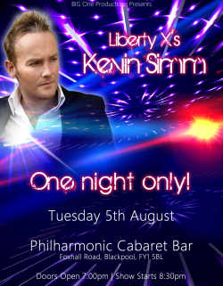 Liberty X - Kevin in Concert