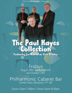 The Paul Hayes Collection LIVE in concert